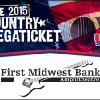 US99.5 Country Megaticket featuring Jason Aldean, Tim McGraw, Lady Antebellum & more First Midwest Bank Amphitheatre