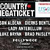 US99 Country Megaticket Your season pass to 5 great country shows! Hollywood Casino Amphitheatre